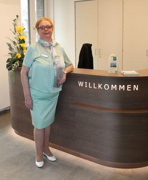 Frau Barbara Maslewski - Pflegedienstleitung und Qualitätsbeauftragte